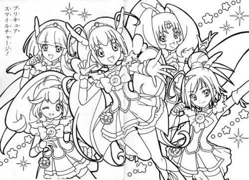 glitter force kelsey coloring pages pictures to pin on